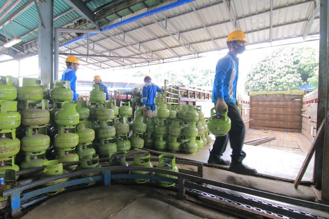 Pertamina Tambah Pasokan LPG 3 Kg di Kalbar Selama Ramadhan (65533)