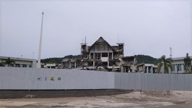 Pembangunan Kembali Kantor Gubernur Sulbar Usai Gempa Perlu Perencanaan Matang (51059)