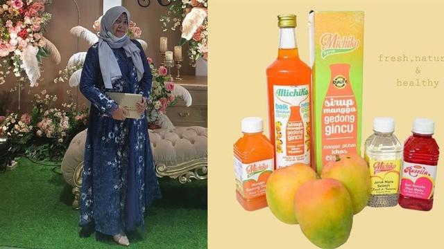 Memulai Usaha Modal Rp 300 Ribu, Kini Uun Unerie Kembangkan Bisnis Minuman Sehat (34633)