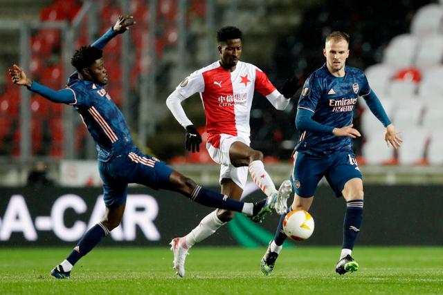 Melihat Penampilan Ciamik 3 Pemain Arsenal saat Hajar Slavia Praha (114770)