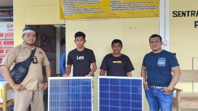 Curi Modul Tenaga Surya Milik Warga, 2 Pemuda di Buton Utara Diringkus Polisi (114368)