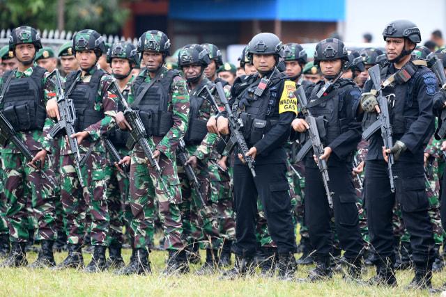 523 Personel TNI Polri Amankan PSU di Morowali, Sulteng (131287)