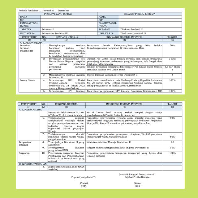 Manajemen Kinerja PNS yang Baru, Mengganti Kerja Menjadi Kinerja (596987)