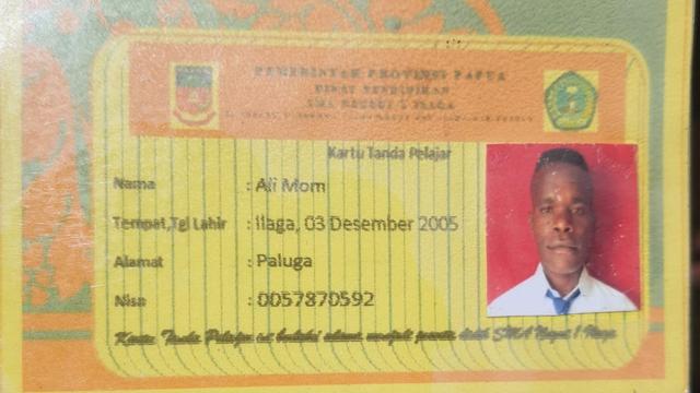 KKB Papua Tembak Seorang Pelajar di Kampung Wuloni, Puncak Papua  (365422)
