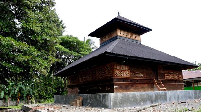 Jejak Perang di Masjid Tuha, Tempat Ulama Tiro Berjihad Usir Belanda (1) (64315)