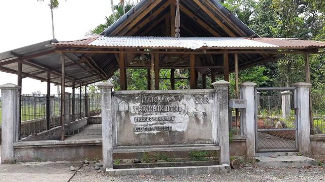 Jejak Perang di Masjid Tuha, Tempat Ulama Tiro Berjihad Usir Belanda (1) (64318)