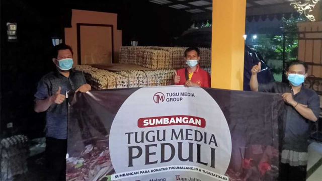 Pengusaha Semarang Kirim 1 Ton Telur dan 100 Kardus Air Minum untuk Gempa Malang (454043)