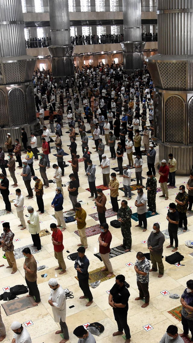 Masjid Istiqlal Gelar Takbiran Online Bareng KBRI di Berbagai Negara (19966)