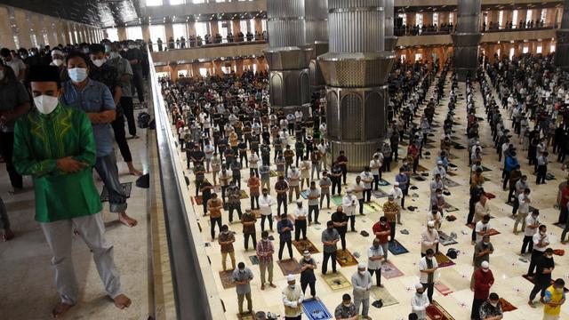 Banyak yang Rindu Masjid Istiqlal, tapi Kondisi Tak Mungkin Salat Idul Fitri  (287597)