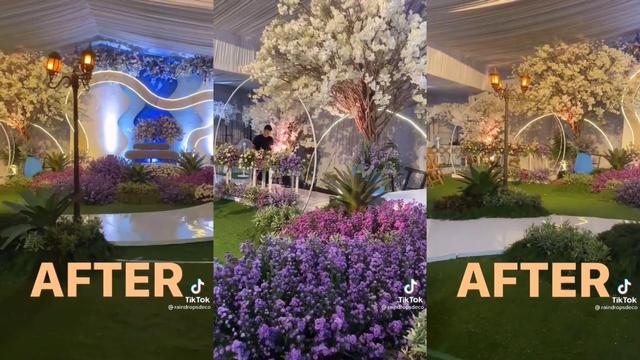 Viral Dekorasi Pesta Pernikahan Bak Sewa Gedung Mewah, Padahal Cuman di Rumah (90195)