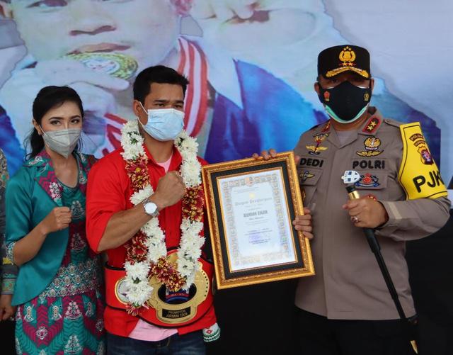 Sambut Petinju Asal Kalteng, Kapolda: Selamat untuk Prestasinya (50964)
