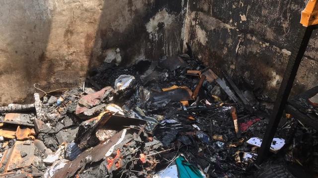 Rumah di Banten Terbakar, Uang Puluhan Juta dan 1 Unit Motor Ikut Hangus (28631)