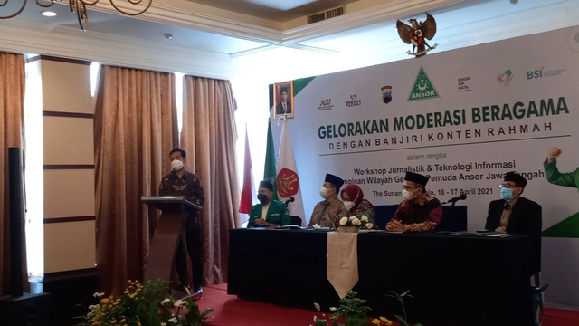 Gelar Pelatihan, GP Ansor Jateng Siap Penuhi Medsos dengan Pesan Damai (423790)