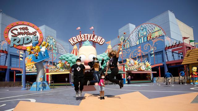 Foto: Universal Studios California Dibuka Kembali untuk Turis (648768)