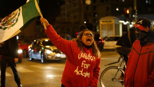 Polisi AS Tembak Remaja 13 Tahun Hingga Tewas, Picu Demo Besar di Chicago (112917)