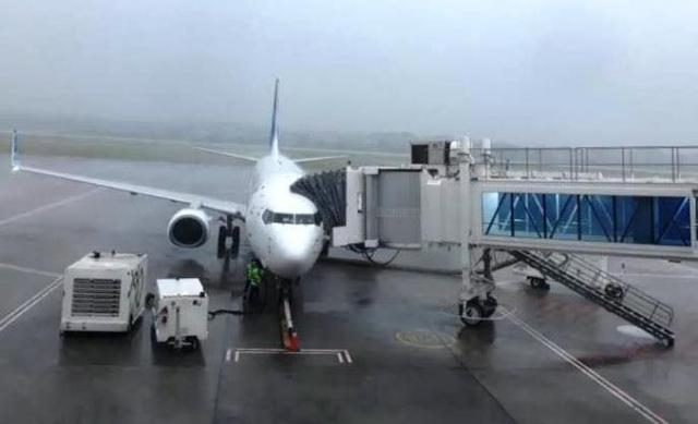 Cuaca Buruk Bikin Pesawat Garuda Indonesia Batal Mendarat di Tanjungpinang (182185)