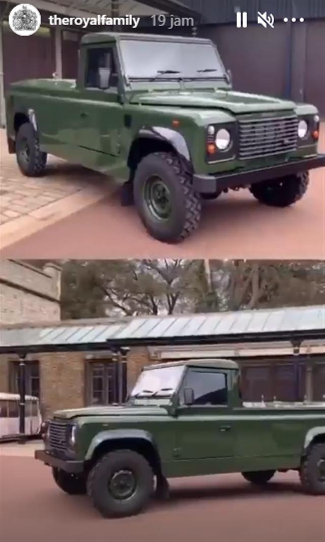 Cerita di Balik Land Rover Defender yang Jadi Mobil Jenazah Pangeran Philip (336406)