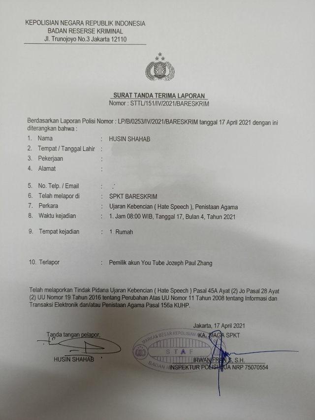 Wamenag Minta Polisi Usut Jozeph yang Ngaku Nabi ke-26: Lukai Perasaan Umat (465331)