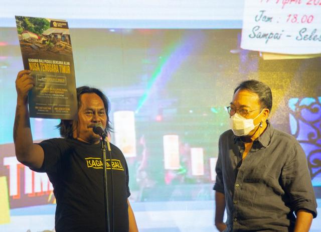 Luncurkan Karya Terbaru, BEN 'n' Star Dukung Kagama Bali Galang Donasi untuk NTT (390159)