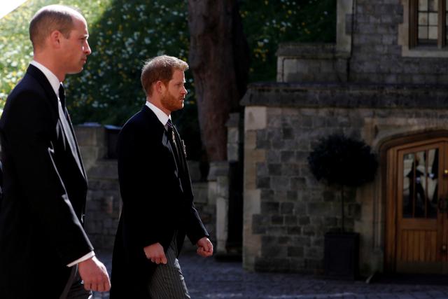 Pangeran William & Harry Diam-diam Bertemu Usai Pemakaman Pangeran Philip (91612)