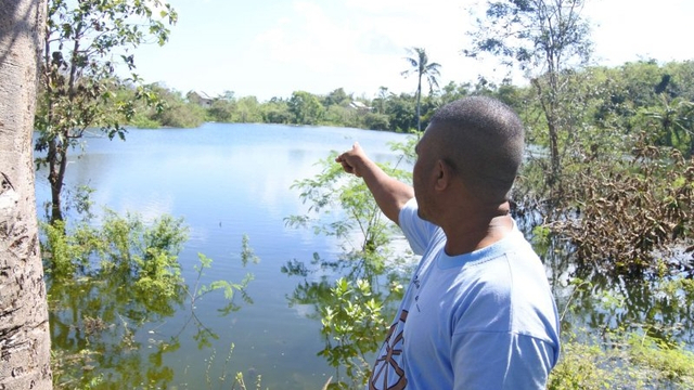 Kata Ahli soal Danau Baru Muncul di Kupang Usai Badai Siklon Tropis Seroja (316230)