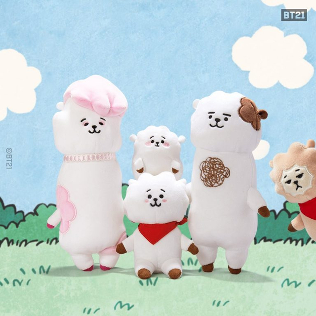RJ BT21, Fakta Menarik tentang Alpaca Imut Kesayangan Jin BTS (860000)
