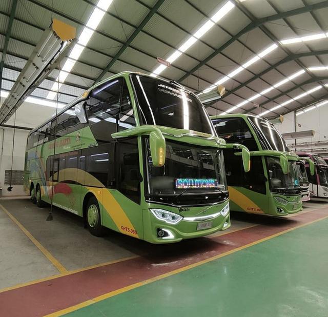 4 Bus Volvo Baru PO Gunung Harta, Ada Double Decker dan Sleeper Seat! (255409)