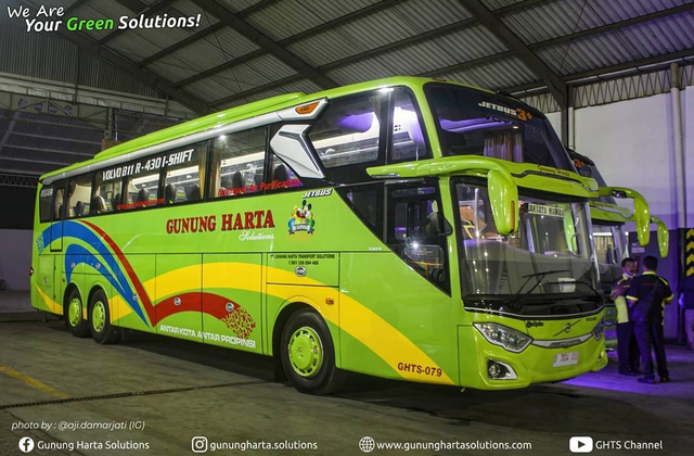 4 Bus Volvo Baru PO Gunung Harta, Ada Double Decker dan Sleeper Seat! (255408)