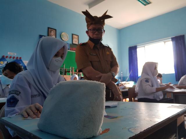 26 SMP di Pangkalpinang Laksanakan Ujian Akhir Sekolah Tatap Muka (370520)