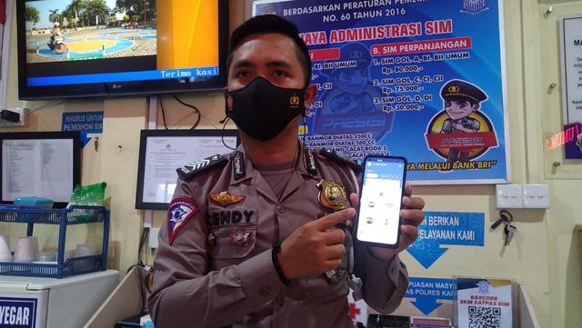 Pengurusan SIM Bisa via Online di Aplikasi Digital Korlantas Polri (3436)