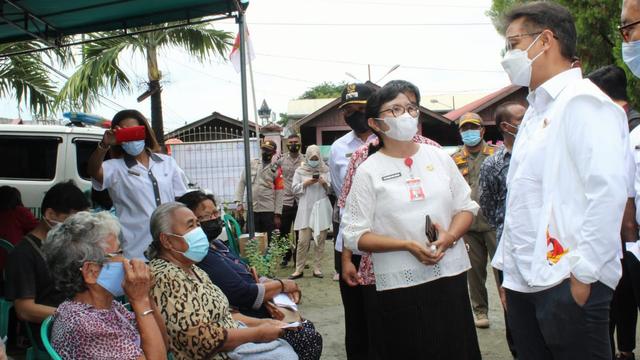Lansia pada 6 Kabupaten di Papua Belum Terima Vaksinasi (106518)