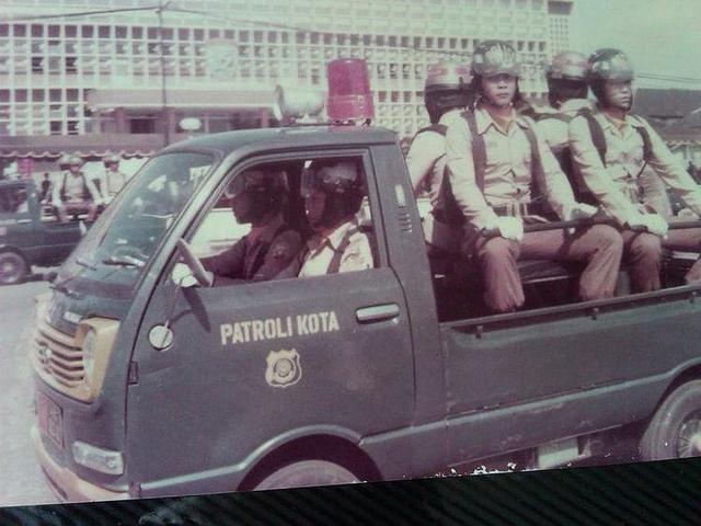 Potret Lawas Mobil Polisi di Indonesia, Keren Dulu atau Sekarang?  (113515)