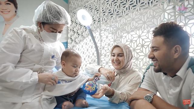 Potret Baby Air, Anak Irish Bella dan Ammar Zoni, saat Jalani Perawatan Wajah (48390)