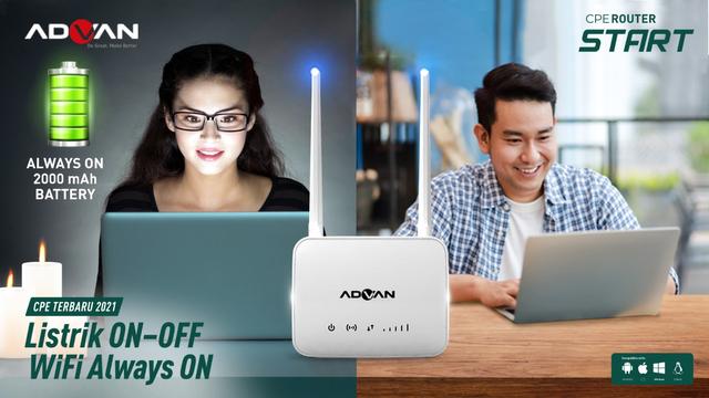 Advan CPE Router Start Rilis di Indonesia, Ada Fitur Penguat Sinyal Internet (144724)