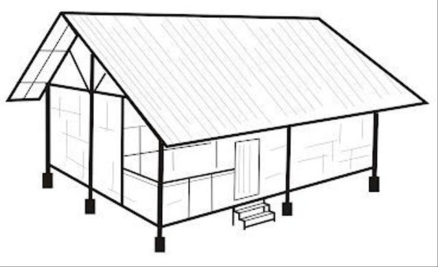 Rumah Adat Jawa Barat dan Atapnya yang Khas (90670)