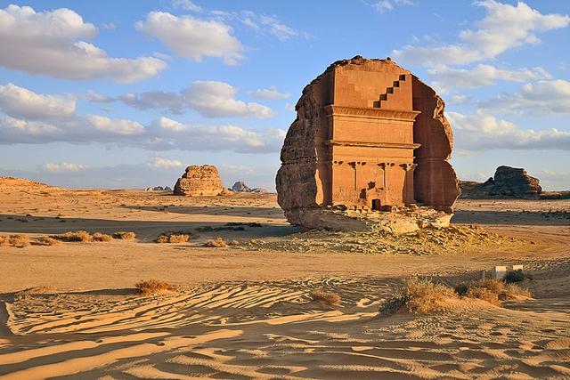 Menilik Qasr Al-Farid, Makam Paling 'Kesepian' Sejak Abad ke -1 di Arab Saudi  (606069)