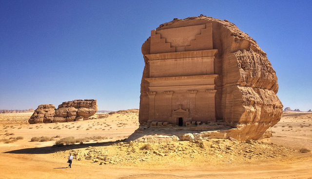 Menilik Qasr Al-Farid, Makam Paling 'Kesepian' Sejak Abad ke -1 di Arab Saudi  (606070)