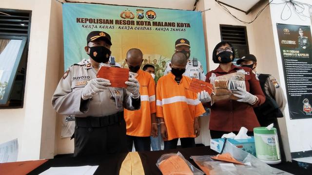 4 Bulan, Polsek Sukun Ringkus 8 Pengguna Narkoba di Kota Malang (93988)