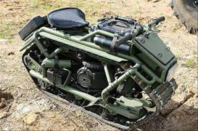 Hamyak, Skutik Rasa Tank dari Rusia, Bisa Digeber di Salju dan Lumpur! (34823)