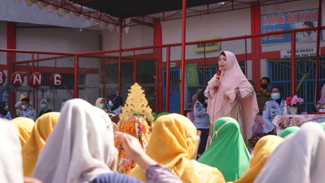 Foto: Peringatan Hari Kartini di Lapas Wanita Palembang (193554)