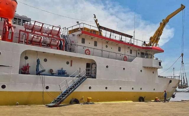 KM Sanus 80 Angkut 129 Penumpang dan 6,5 Ton Barang ke Pulau di Kepri-Kalbar (342495)