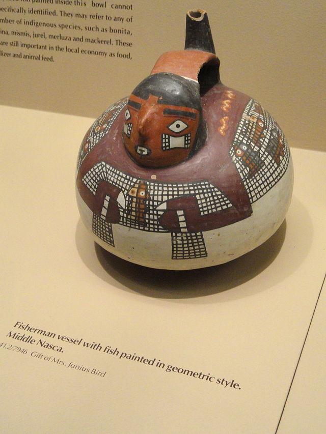 Tembikar Peninggalan Kebudayaan Nazca (127148)