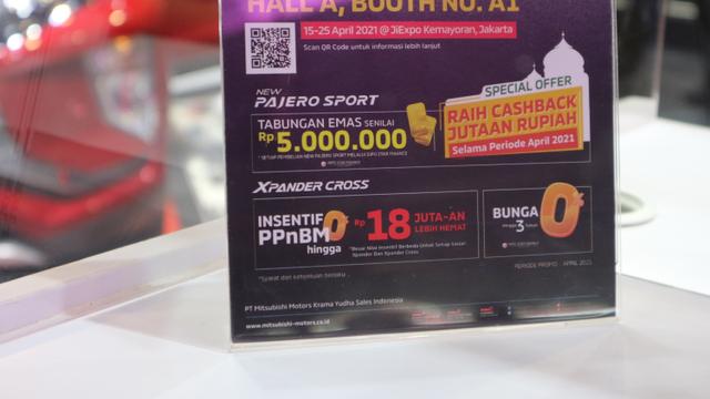 Nagbuburit DI IIMS Hybrid 2021, Jangan lupa berkunjung ke Booth Mitsubishi Motor (534388)