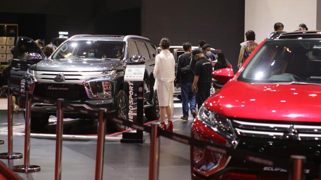 Nagbuburit DI IIMS Hybrid 2021, Jangan lupa berkunjung ke Booth Mitsubishi Motor (534389)