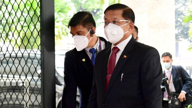 Jokowi saat Pertemuan dengan Otak Kudeta Myanmar: Hentikan Kekerasan (759979)