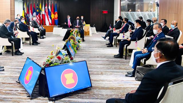 Isi 5 Konsensus Pemimpin ASEAN soal Penuntasan Krisis Myanmar  (252441)