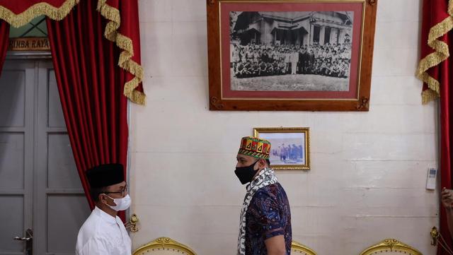 Foto: AHY ke Aceh, Ziarah Makam Tun Sri Lanang, Temu Kader dan Ulama (505585)