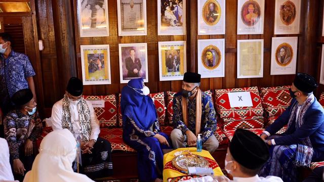 Foto: AHY ke Aceh, Ziarah Makam Tun Sri Lanang, Temu Kader dan Ulama (505587)