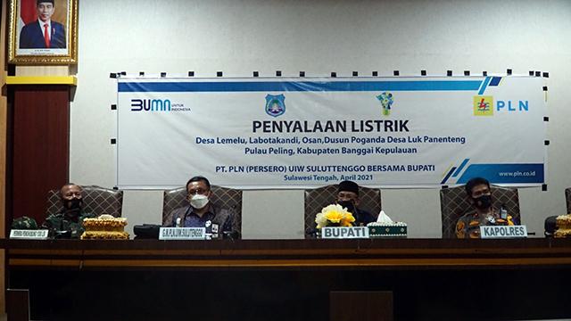 PLN Berhasil Alirkan Listrik untuk 10 Desa di Banggai Laut dan Banggai Kepulauan (345409)
