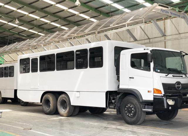 Unik, Begini Wujud Bus yang Dipakai di Perusahaan Tambang (1165213)